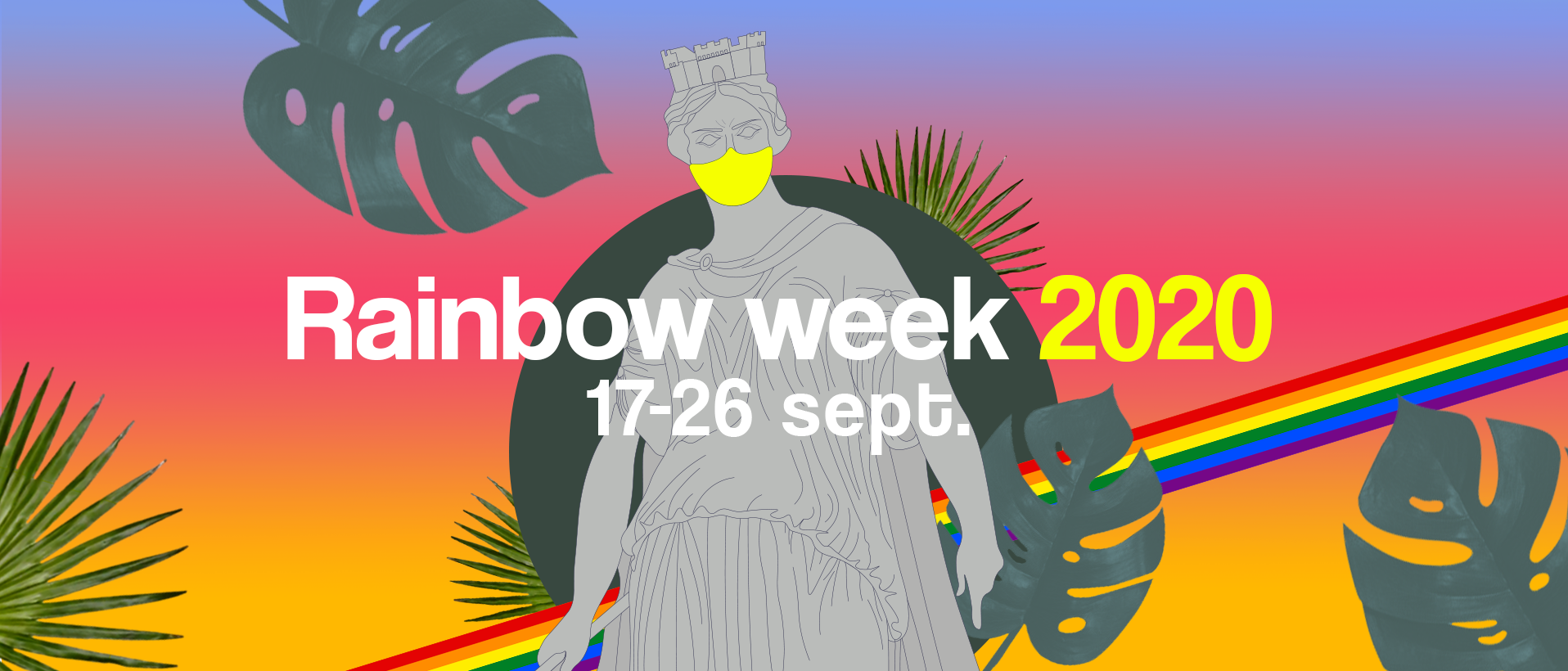 pride lille 2020 covid annulation rainbow week programmation