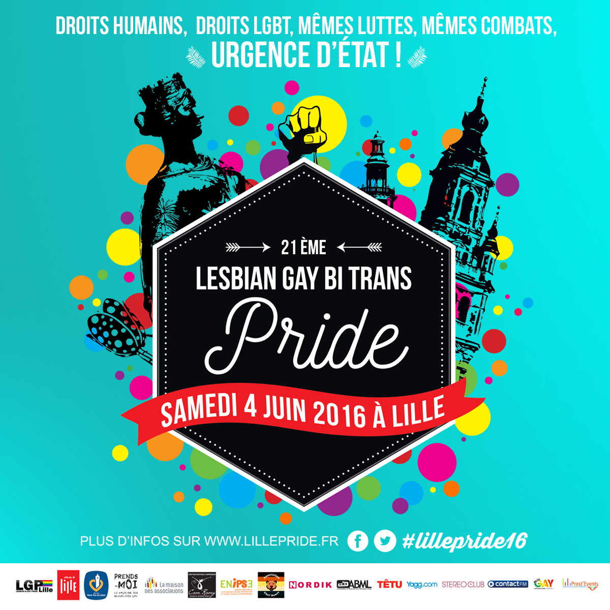 gay pride lille 2016