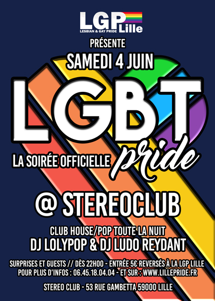 soiree gay pride 2016 lille